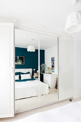 W stylu prowansalskim: styl , w kategorii Sypialnia zaprojektowany przez Decoroom