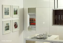 Mieszkanie w Poznaniu: styl , w kategorii Kuchnia zaprojektowany przez Dessi