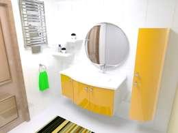 NİL DEKOR  – ALİNDA BANYO: modern tarz Banyo