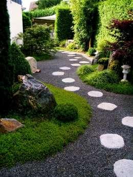 庭院 by Neues Gartendesign by Wentzel