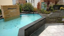 Jardines de estilo moderno por Neues Gartendesign by Wentzel