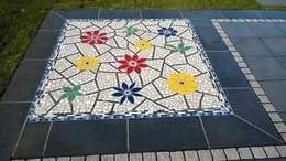 حديقة تنفيذ Neues Gartendesign by Wentzel