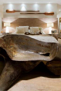 Projekty,  Sypialnia zaprojektowane przez Tweedie+Pasquali