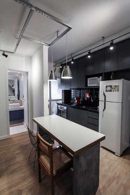 Projekty,  Kuchnia zaprojektowane przez SP Estudio