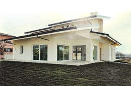Casas de estilo moderno por Lucia D'Amato Architect