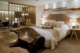 Dormitorios de estilo topical por Tweedie+Pasquali