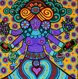 Abundancia (Xochiquetzal): Arte de estilo  por Jimmy Carbo