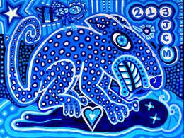 Jaguar Azul: Arte de estilo  por Jimmy Carbo
