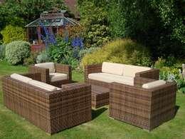 Arizona Sofa Suite:  Garden  by Garden Furniture Centre