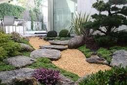 jardines de estilo por jardines japoneses estudio de paisajismo