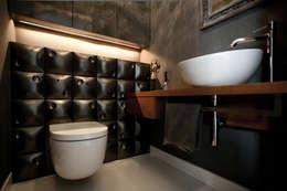Mała łazienka : styl , w kategorii Łazienka zaprojektowany przez ARCHISSIMA