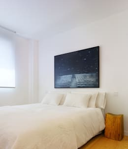 غرفة نوم تنفيذ Castroferro Arquitectos