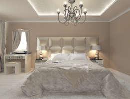 Лаконичный интерьер.: Спальни в . Автор – Tutto design
