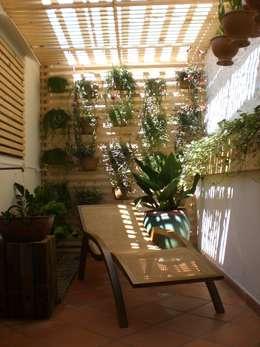 Jardines de invierno de estilo moderno por Estudio Amélia Tarozzo