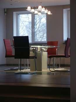 обеденный стол ronald schmitt möbel: Столовая комната в . Автор – (DZ)M