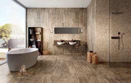 Baños de estilo asiático por Badkamer & Tegels magazine