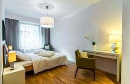 sypialnia: styl , w kategorii  zaprojektowany przez Home2Sell