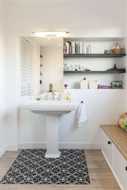 maéma architectes의  화장실