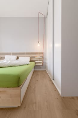 Mieszkanie MiM: styl , w kategorii Sypialnia zaprojektowany przez 081 architekci