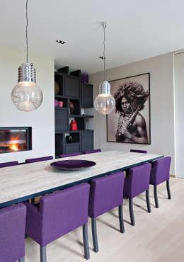 PH COLLECTION - table haute Canada: Salle à manger de style de style Moderne par PH COLLECTION
