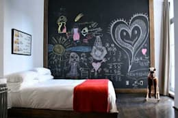 غرفة نوم تنفيذ Federica Rossi Interior Designer