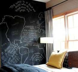 62 idee spettacolari per dipingere o decorare le pareti - Federica naj oleari interior designer ...