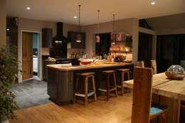 rustic Kitchen by BluBambu Living