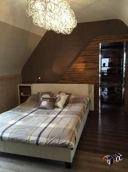 Architecture intérieur Brest - Rénovation d'une chambre: Chambre de style de style Classique par Ad Hoc Concept architecture