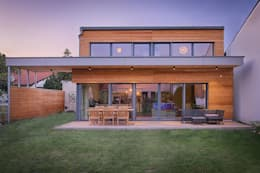 Projekty, nowoczesne Domy zaprojektowane przez AL ARCHITEKT