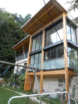 Côté jardin: Maisons de style de style Moderne par Francis Chatelin
