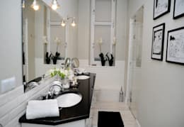 Metamorfoza łazienki: styl , w kategorii  zaprojektowany przez Decolatorium