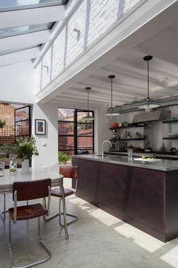 industrial Kitchen by Mustard Architects
