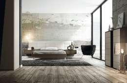 modern Bedroom by Muebles Begui