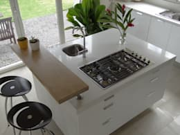 Cocinas de estilo minimalista por Aroma Italiano Eco Design