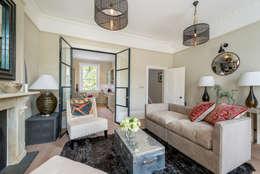 غرفة المعيشة تنفيذ Will Eckersley