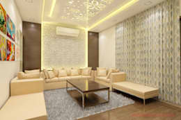 Residential project by interior designer saykaran jangid chennai: asian Bedroom by abc interiors india
