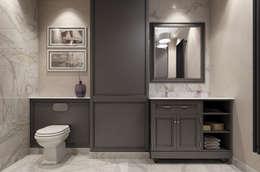 classic Bathroom by EVGENY BELYAEV DESIGN