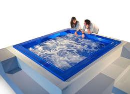 Baños de estilo moderno por Monigali