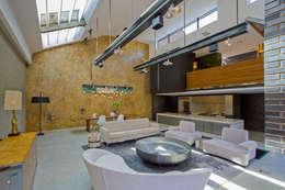 industriale Wohnzimmer von Will Eckersley