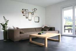 skizzenROLLE: modern tarz Oturma Odası