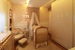 Dormitorios infantiles de estilo clásico por MJArquitetura