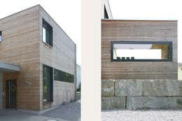 moderne Huizen door skizzenROLLE
