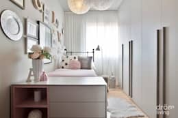 scandinavian Nursery/kid's room by Dröm Living