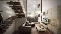 Pure Design: modern tarz Oturma Odası