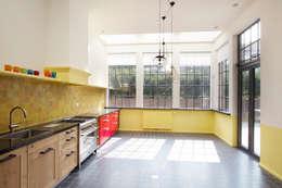 Projekty,  Kuchnia zaprojektowane przez Architectenbureau Vroom
