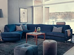 modern Living room تنفيذ Taylors Etc