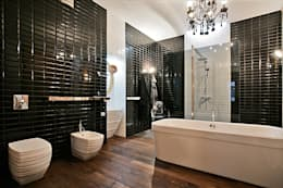 eclectic Bathroom by VNUTRI