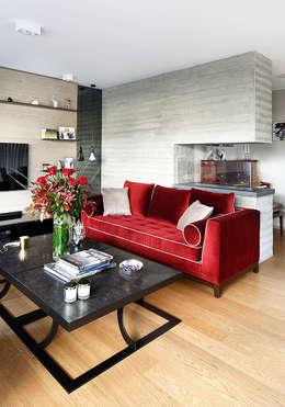 Projekty,  Salon zaprojektowane przez Esra Kazmirci Mimarlik
