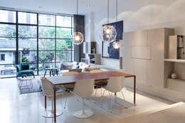 Amsterdam Zuid: moderne Eetkamer door Binnenvorm