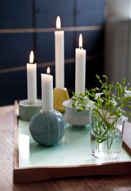 Wohnzimmer Dekorieren Mit Kerzen
